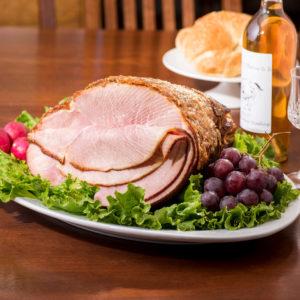 Honey Spiced Glazed Ham